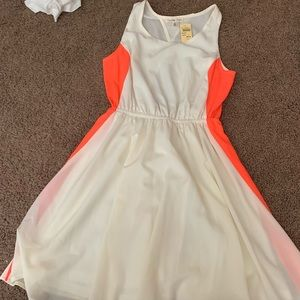 Brand new, fun colored dress perfect for summer